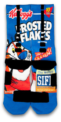 Frosted Flakes Custom Elite Socks - CustomizeEliteSocks.com - 2