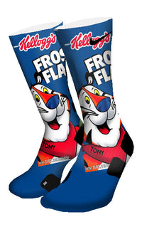 Frosted Flakes Custom Elite Socks - CustomizeEliteSocks.com - 4