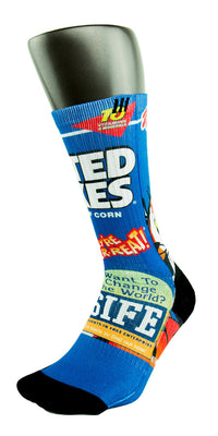 Frosted Flakes CES Custom Socks - CustomizeEliteSocks.com - 3