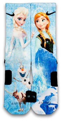 Frozen Custom Elite Socks - CustomizeEliteSocks.com - 1