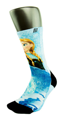 Frozen CES Custom Socks - CustomizeEliteSocks.com - 3