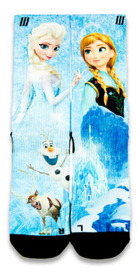 Frozen CES Custom Socks - CustomizeEliteSocks.com - 1