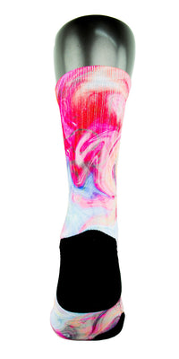 Galaxy Swirls CES Custom Socks - CustomizeEliteSocks.com - 4