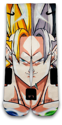 Goku Custom Elite Socks - CustomizeEliteSocks.com - 1