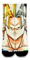 Goku CES Custom Socks - CustomizeEliteSocks.com