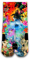 Hawaiian Flow Custom Elite Socks - CustomizeEliteSocks.com - 1