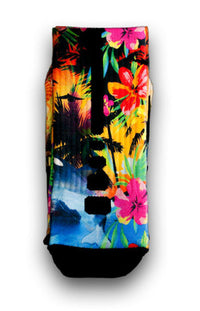 Hawaiian Flow Custom Elite Socks - CustomizeEliteSocks.com - 3