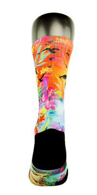 Hawaiian Flow CES Custom Socks - CustomizeEliteSocks.com - 4