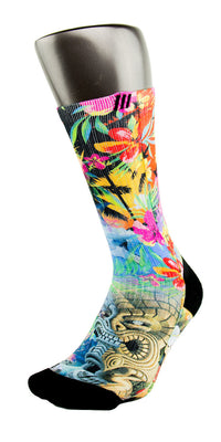 Hawaiian Flow CES Custom Socks - CustomizeEliteSocks.com - 3
