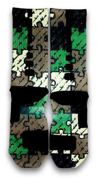 Hidden Shot Custom Elite Socks - CustomizeEliteSocks.com - 3