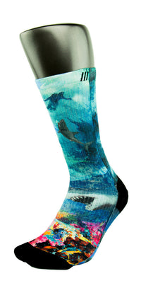 Into The Deep CES Custom Socks - CustomizeEliteSocks.com - 3