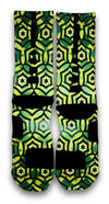 Jade Cascade Custom Elite Socks - CustomizeEliteSocks.com - 3