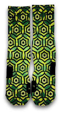 Jade Cascade Custom Elite Socks - CustomizeEliteSocks.com - 2