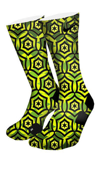 Jade Cascade Custom Elite Socks - CustomizeEliteSocks.com - 4