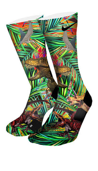 Jurassic Era Custom Elite Socks - CustomizeEliteSocks.com - 4