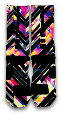 Kaleido Xffects Custom Elite Socks - CustomizeEliteSocks.com - 3