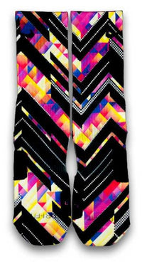 Kaleido Xffects Custom Elite Socks - CustomizeEliteSocks.com - 2