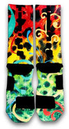 King Cheetah Custom Elite Socks - CustomizeEliteSocks.com - 3