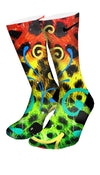 King Cheetah Custom Elite Socks - CustomizeEliteSocks.com - 4