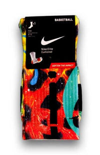 King Cheetah Custom Elite Socks - CustomizeEliteSocks.com - 1