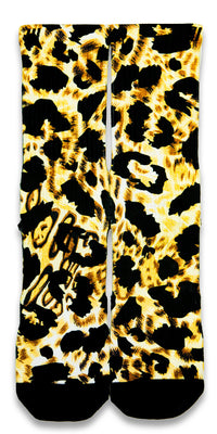 King Cheetah CES Custom Socks - CustomizeEliteSocks.com - 1