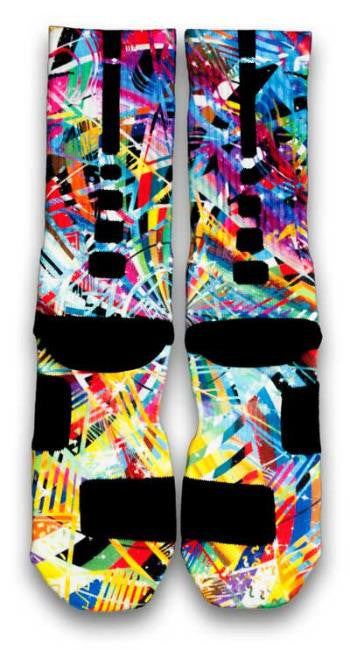 LeBron X What The MVP Nike Custom Elite Socks ...