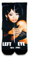 Left Eye CES Custom Socks - CustomizeEliteSocks.com