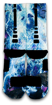 Lightning Blast Custom Elite Socks - CustomizeEliteSocks.com - 2