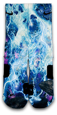 Lightning Blast Custom Elite Socks - CustomizeEliteSocks.com - 1