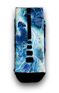 Lightning Blast Custom Elite Socks - CustomizeEliteSocks.com - 3