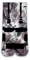 Lung Cancer A Splash of White Custom Elite Socks - CustomizeEliteSocks.com - 3
