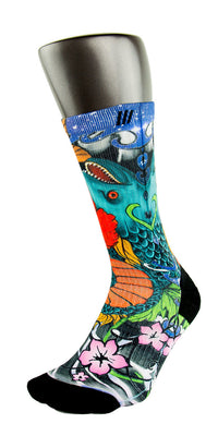 Metamorphosis CES Custom Socks - CustomizeEliteSocks.com - 3