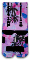 Miami Palms Custom Elite Socks - CustomizeEliteSocks.com - 3