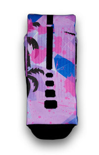 Miami Palms Custom Elite Socks - CustomizeEliteSocks.com - 2