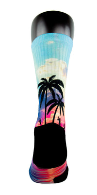 Miami 305s CES Custom Socks - CustomizeEliteSocks.com - 4