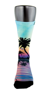 Miami 305s CES Custom Socks - CustomizeEliteSocks.com - 2