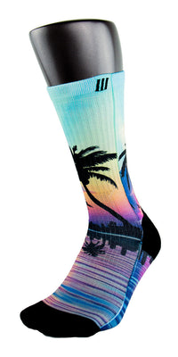 Miami 305s CES Custom Socks - CustomizeEliteSocks.com - 3