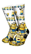 Minions Custom Elite Socks - CustomizeEliteSocks.com - 4