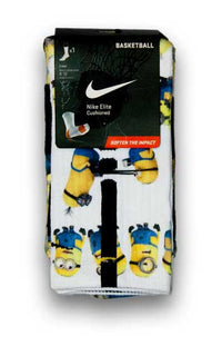Minions Custom Elite Socks - CustomizeEliteSocks.com - 3