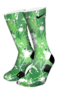 Non Hodgkin's Lymphoma Custom Elite Socks - CustomizeEliteSocks.com - 4