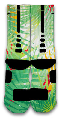Palms Custom Elite Socks - CustomizeEliteSocks.com - 2