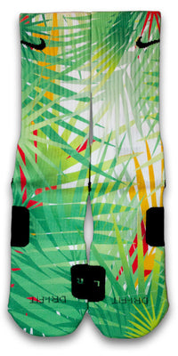 Palms Custom Elite Socks - CustomizeEliteSocks.com - 1