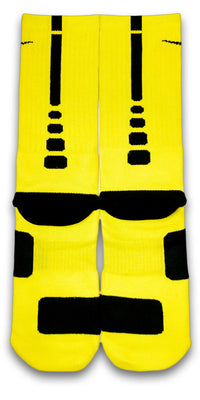 Pikachu Custom Elite Socks - CustomizeEliteSocks.com - 2