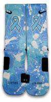 Prostate Cancer Custom Elite Socks - CustomizeEliteSocks.com - 1