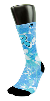 Prostate Cancer CES Custom Socks - CustomizeEliteSocks.com - 3