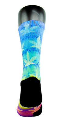 Rainbow Kush CES Custom Socks - CustomizeEliteSocks.com - 4