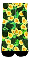Smooth Avocados CES Custom Socks