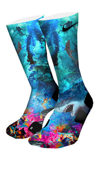 Into The Deep Custom Elite Socks - CustomizeEliteSocks.com - 4