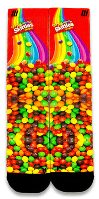 Skittles CES Custom Socks - CustomizeEliteSocks.com - 1