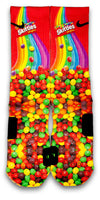 Skittles Custom Elite Socks - CustomizeEliteSocks.com - 1